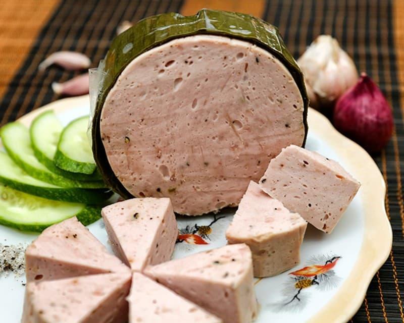 Nơi bán các loại chả lụa bò quế chả cá chiên giòn sẵn 1 kg ngon giá rẻ tphcm